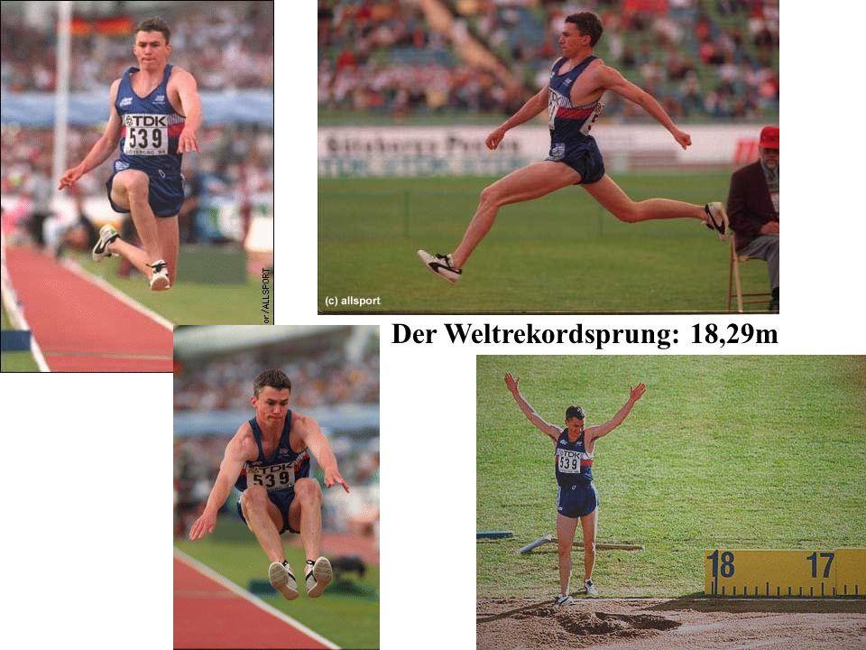 Der Weltrekordsprung: 18,29m
