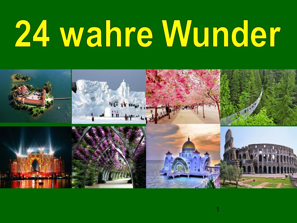 24 wahre Wunder