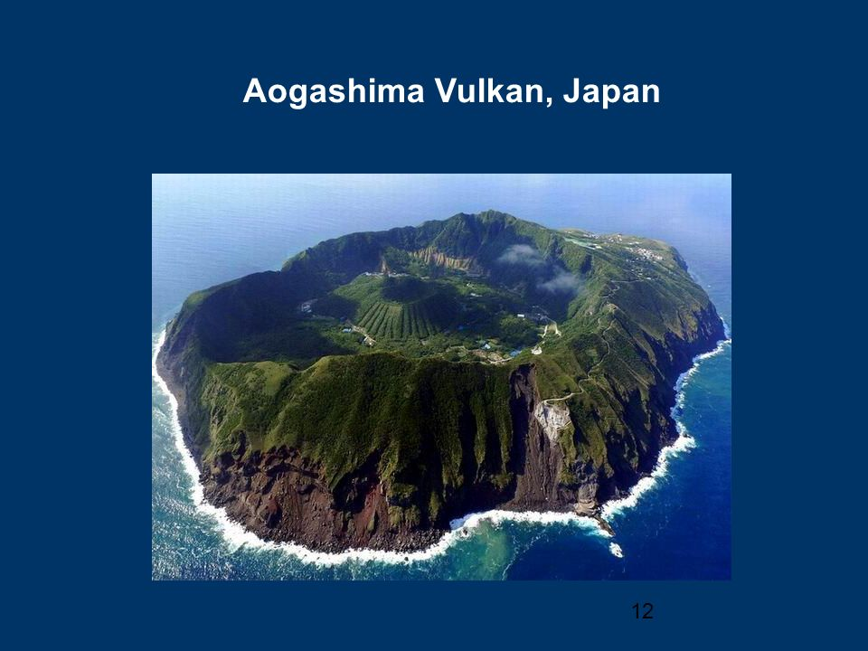 Aogashima Vulkan, Japan
