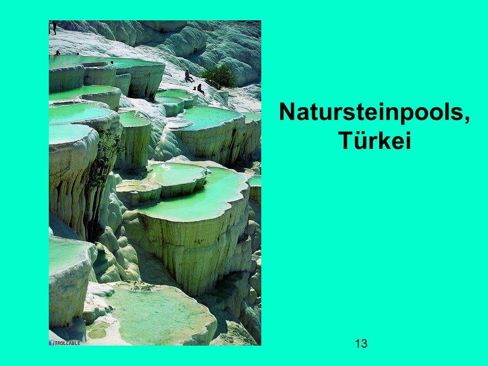 Natursteinpools, Türkei