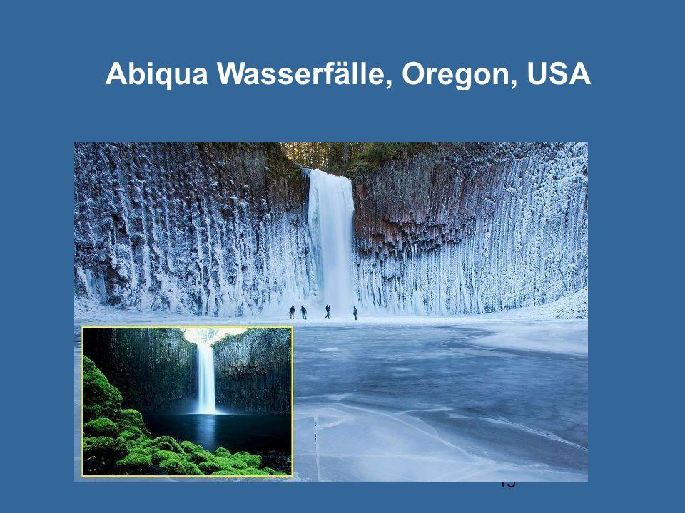Abiqua Wasserfälle, Oregon, USA