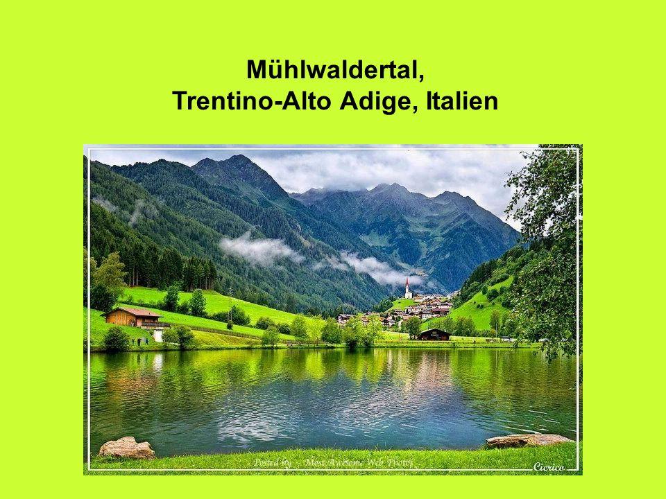 Mühlwaldertal, Trentino-Alto Adige, Italien