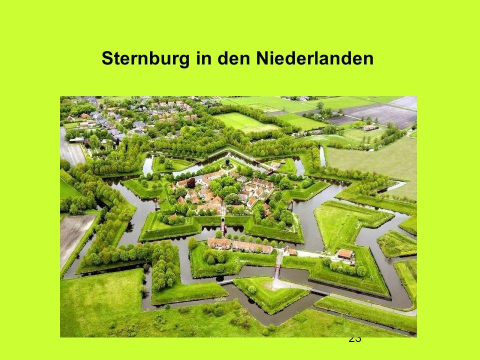Sternburg in den Niederlanden