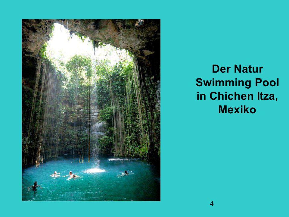 Der Natur Swimming Pool in Chichen Itza, Mexiko