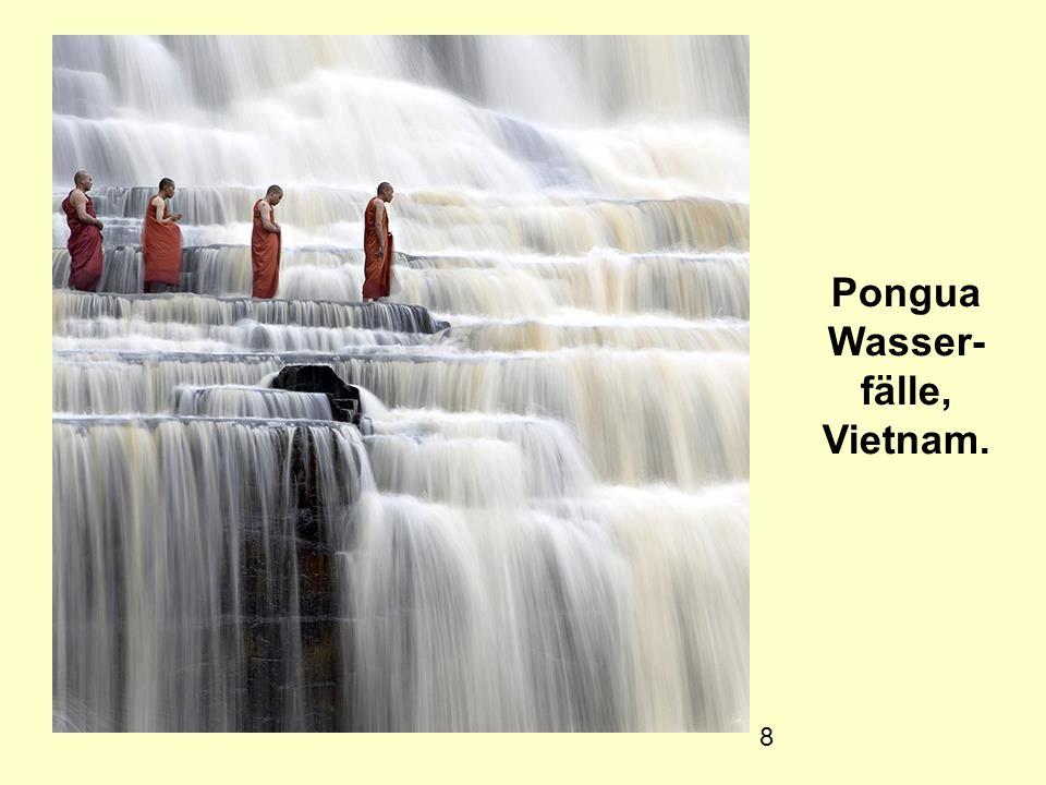 Pongua Wasser- fälle, Vietnam.