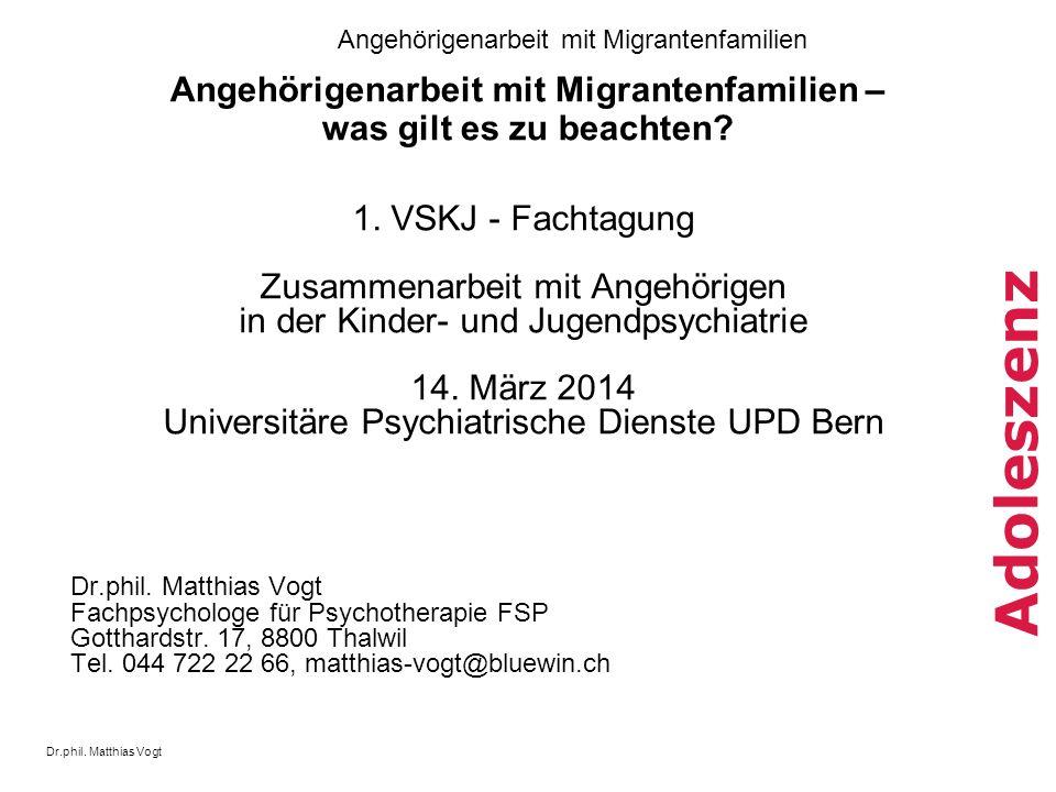 Angehörigenarbeit mit Migrantenfamilien – was gilt es zu beachten