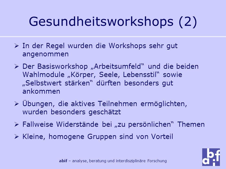 Gesundheitsworkshops (2)