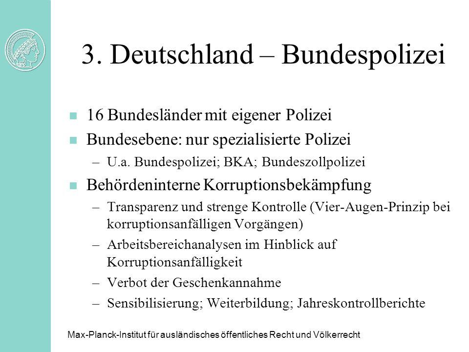 3. Deutschland – Bundespolizei