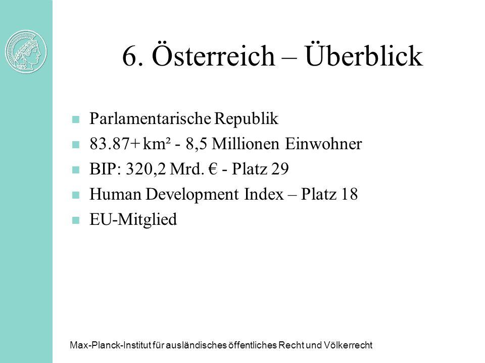 6. Österreich – Überblick