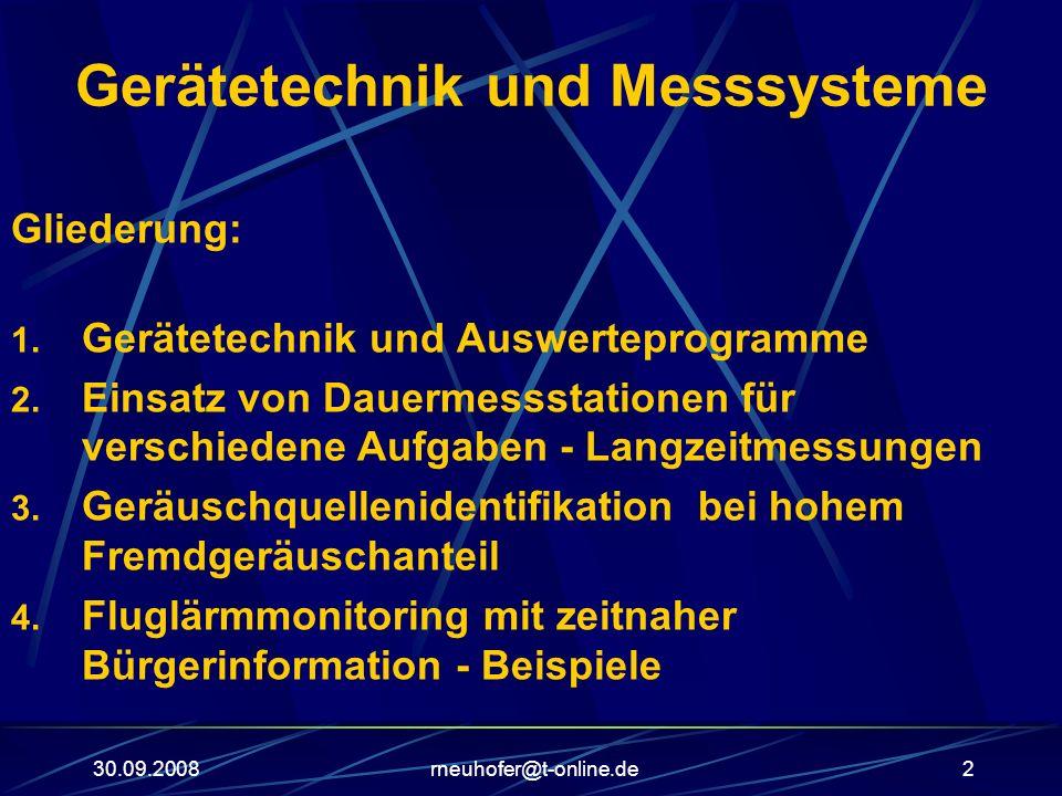 Gerätetechnik und Messsysteme