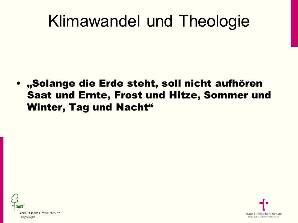 Klimawandel und Theologie