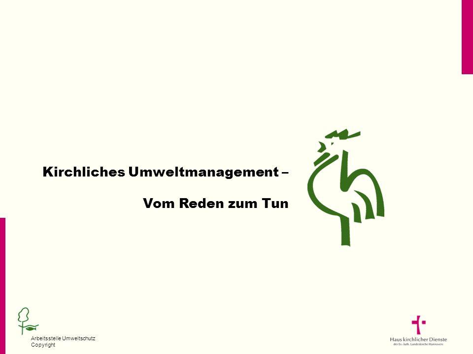 Kirchliches Umweltmanagement –