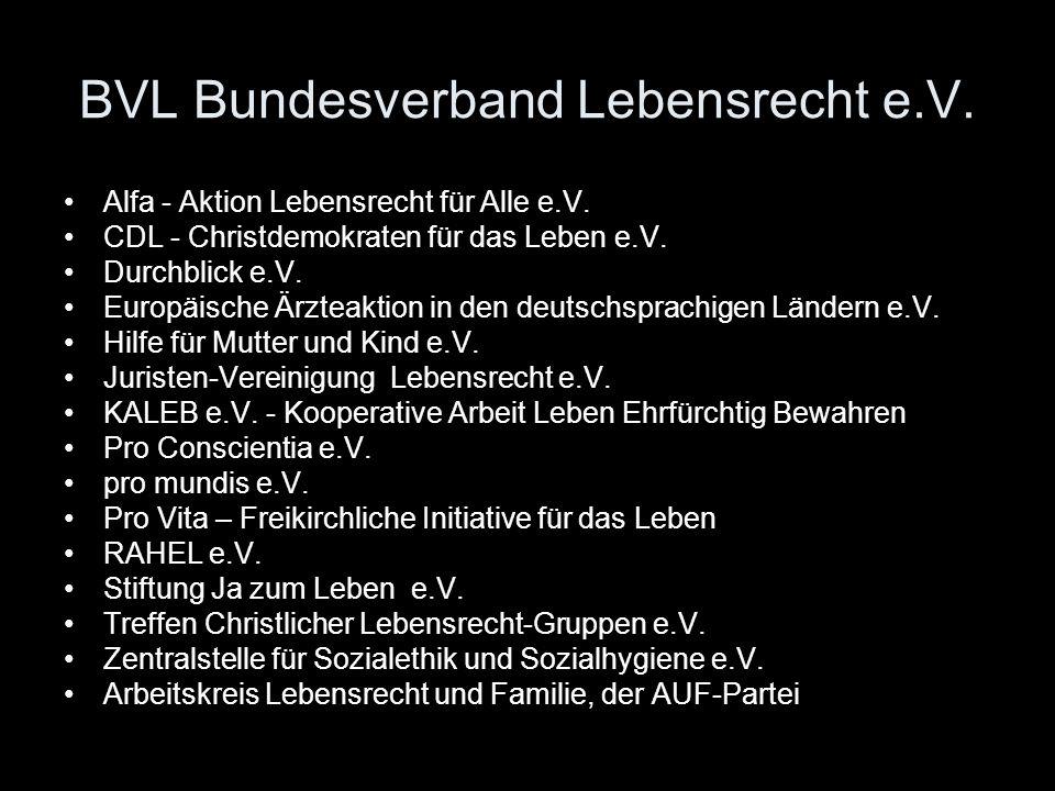 BVL Bundesverband Lebensrecht e.V.