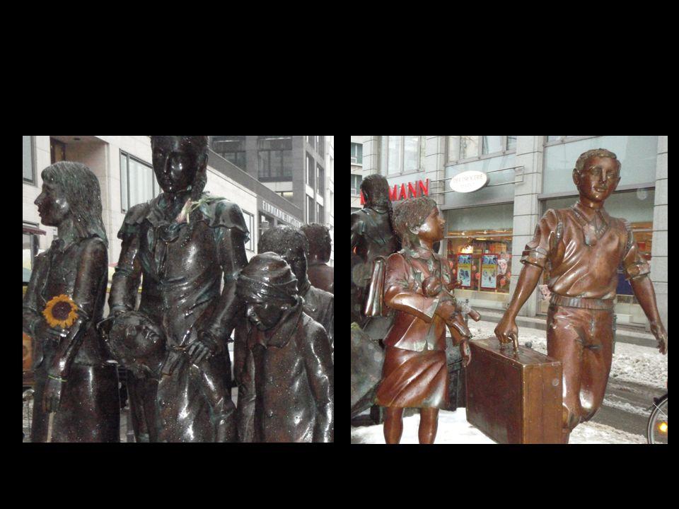 Vom Bahnhof Friedrichstraße in Berlin fuhren die jüdischen Kinder los