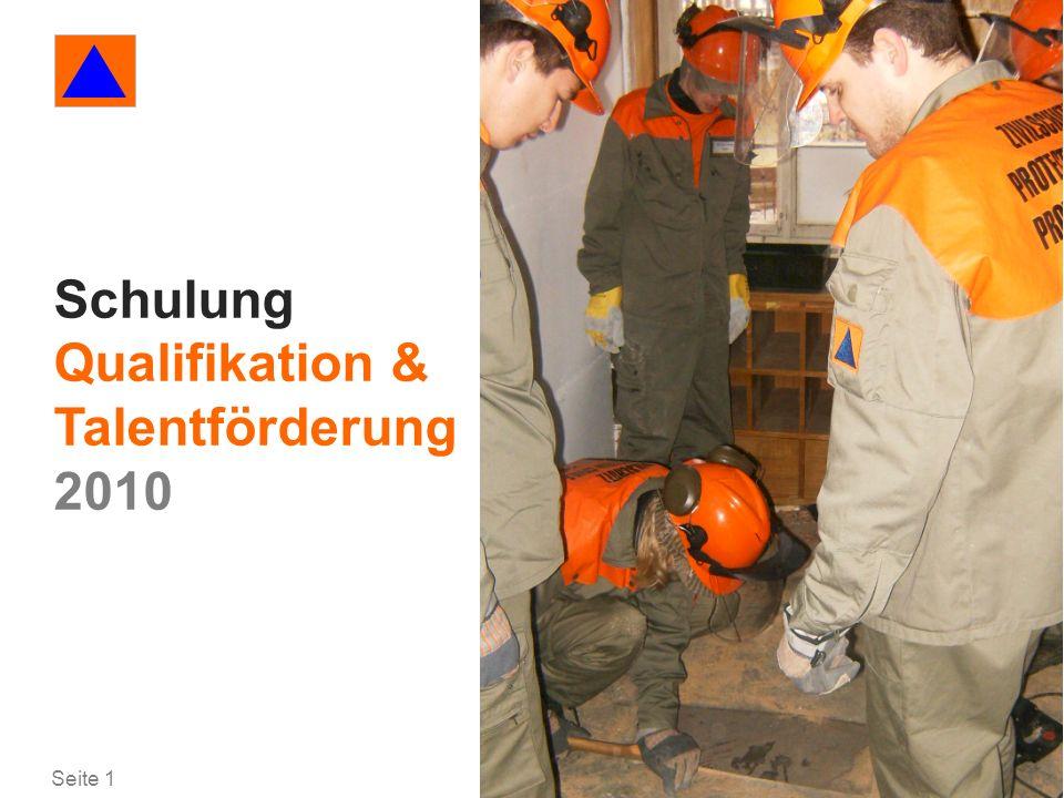 Schulung Qualifikation & Talentförderung 2010