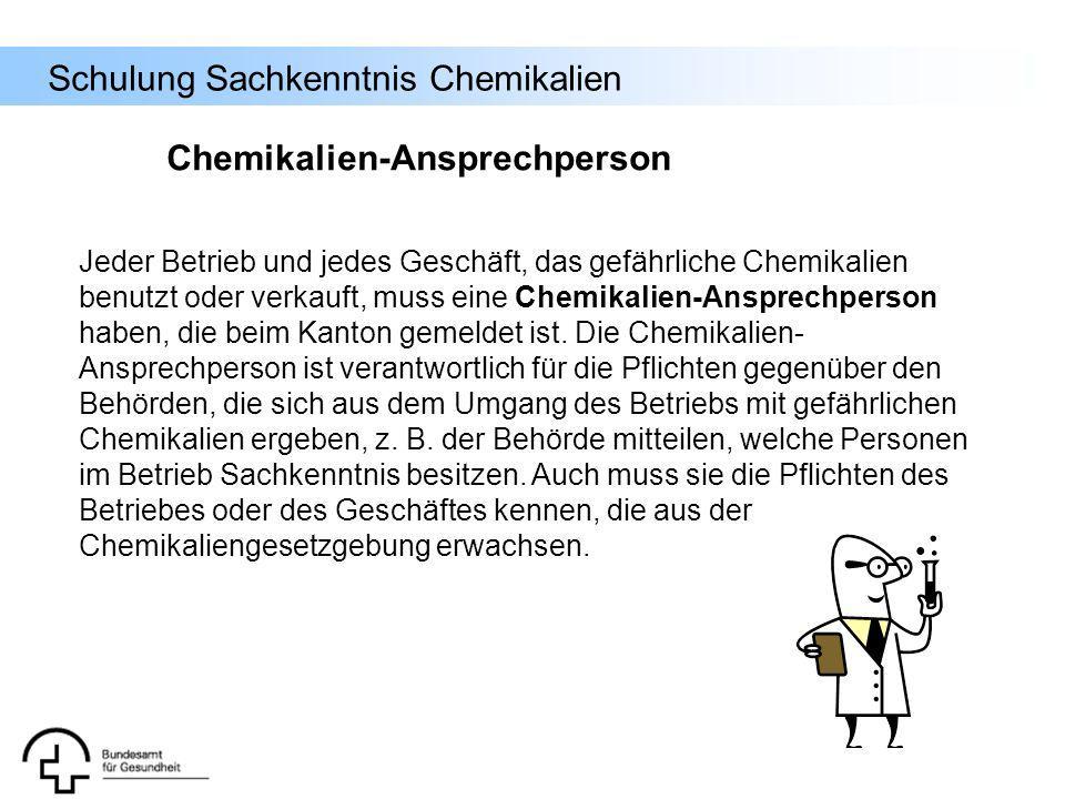 Chemikalien-Ansprechperson