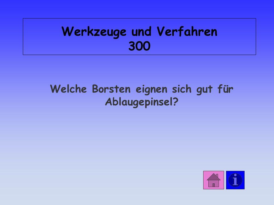 Werkzeuge und Verfahren 300