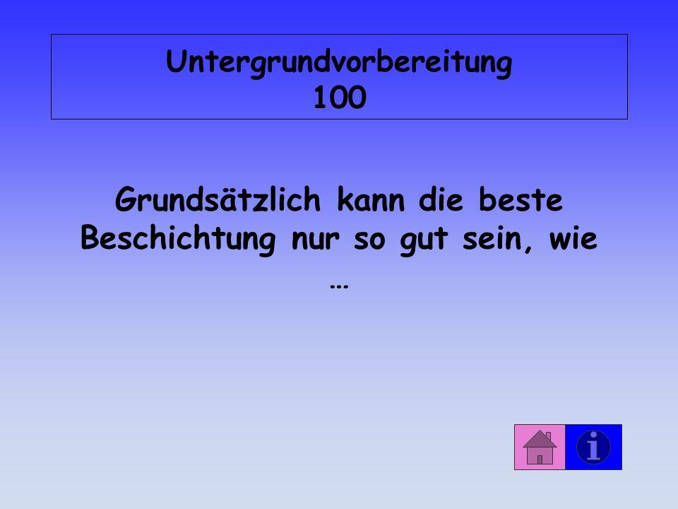 Untergrundvorbereitung 100