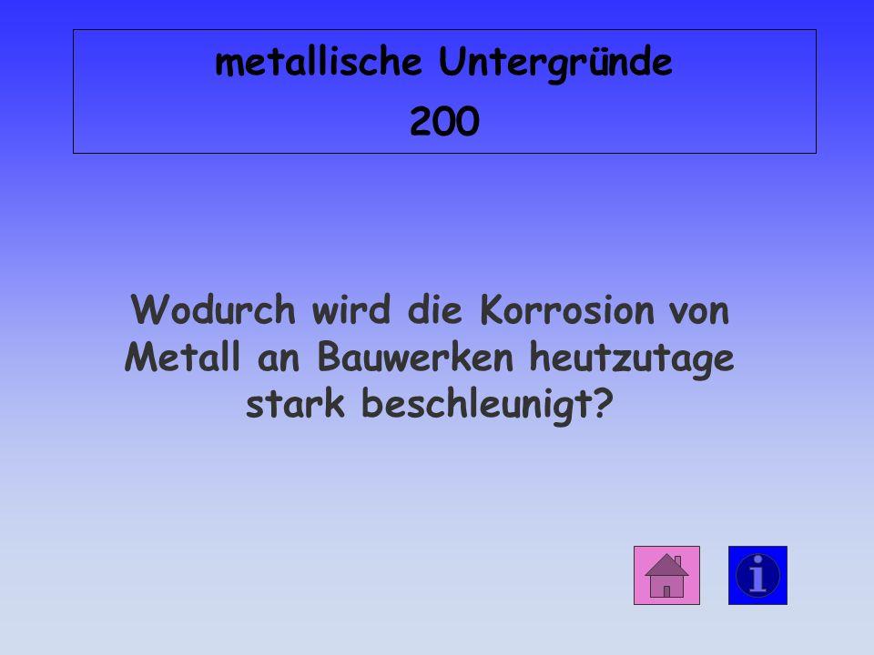 metallische Untergründe 200