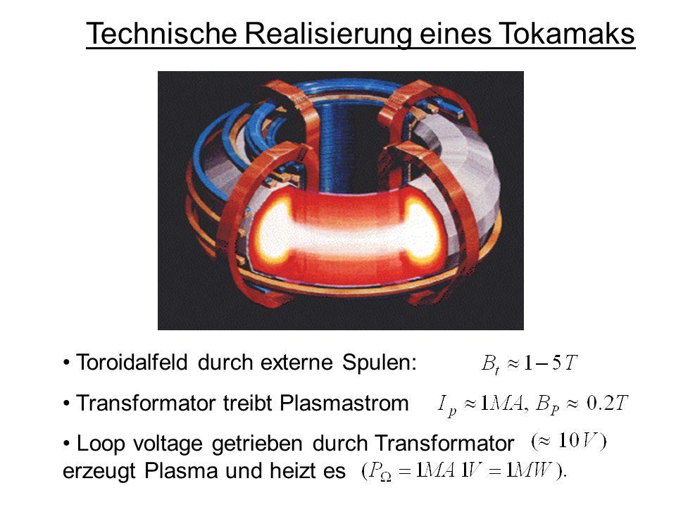 Technische Realisierung eines Tokamaks