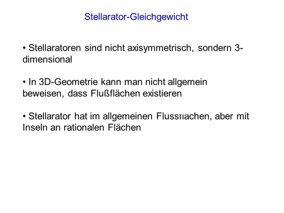 Stellarator-Gleichgewicht