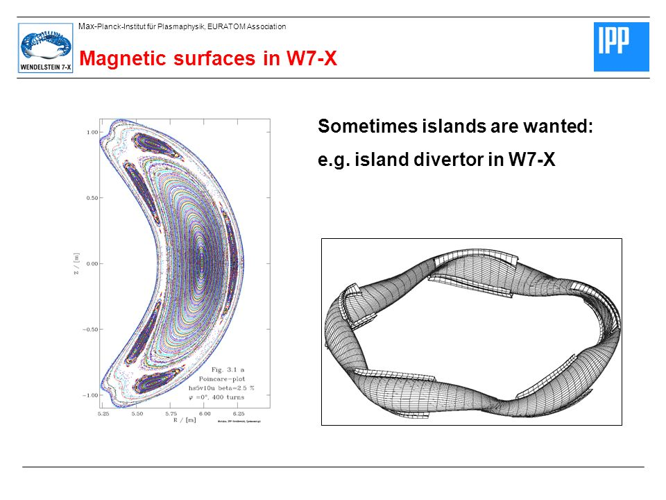 Magnetic surfaces in W7-X