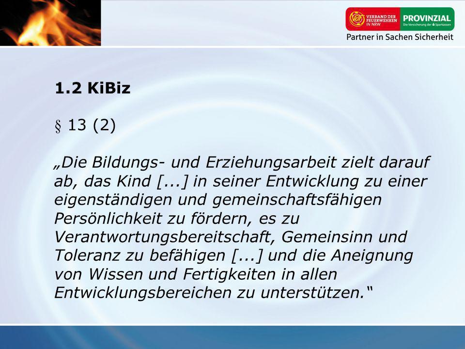 1.2 KiBiz § 13 (2)