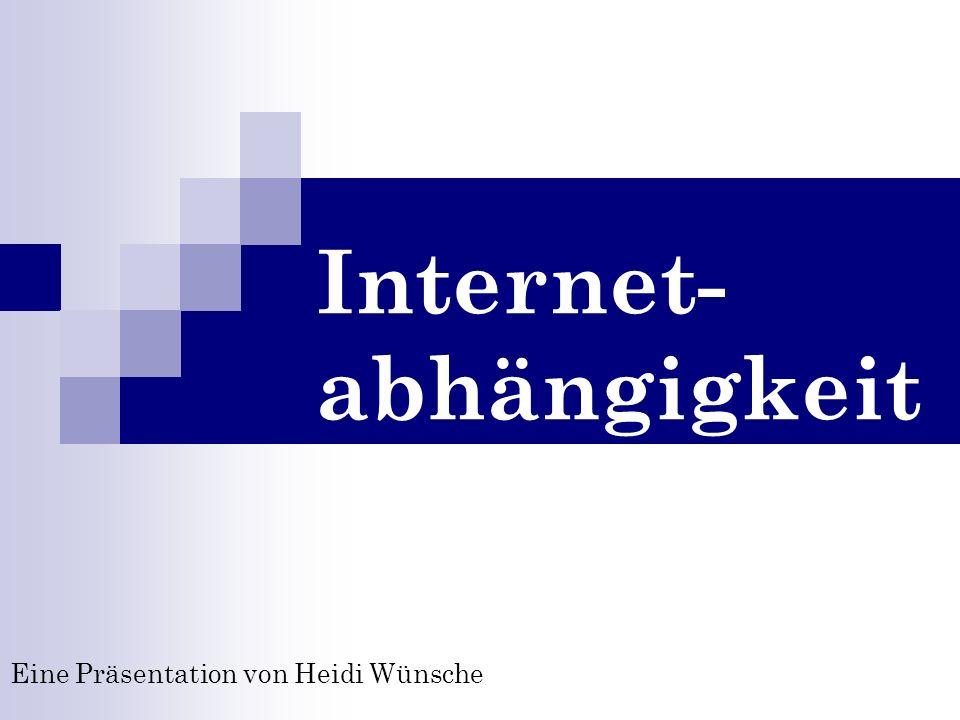 Internet-abhängigkeit