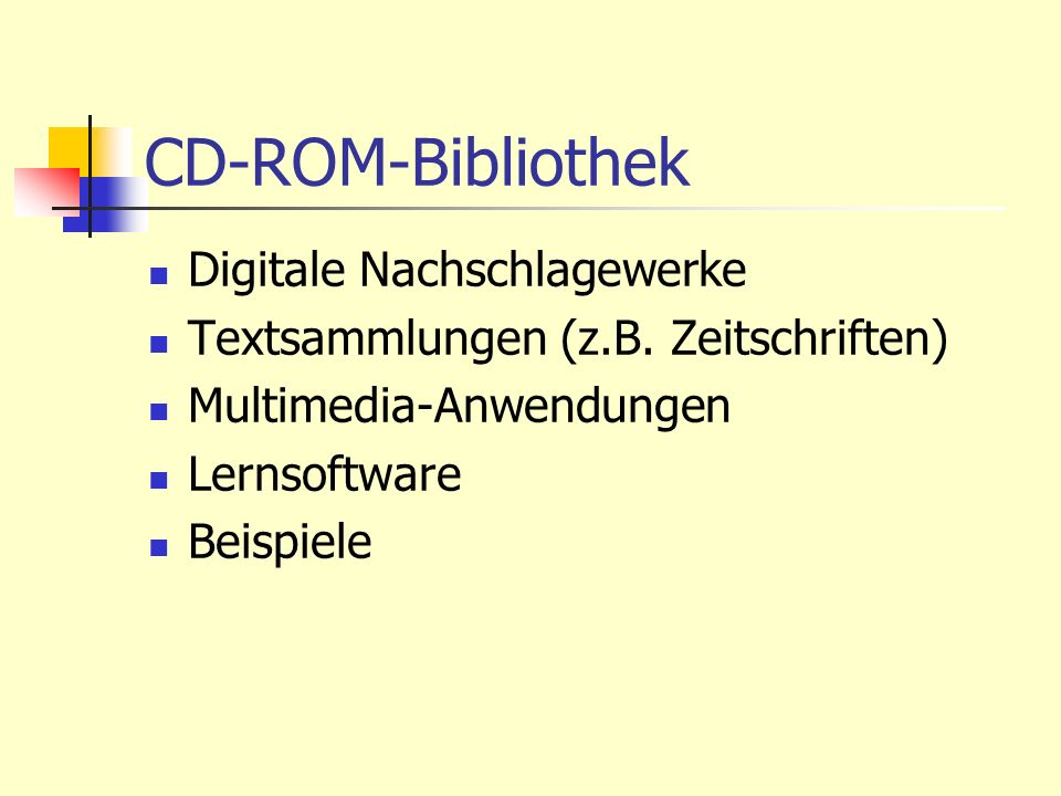 CD-ROM-Bibliothek Digitale Nachschlagewerke