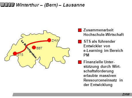 Winterthur – (Bern) – Lausanne