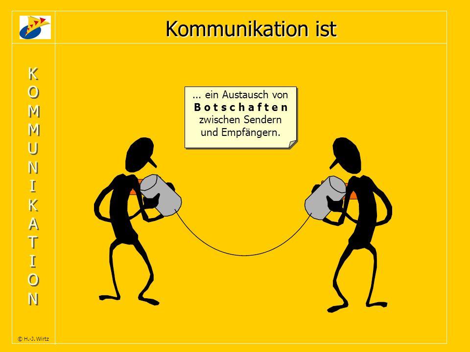 Kommunikation ist KOMMUNIKATION