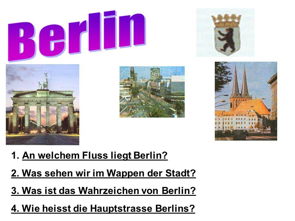 Berlin An welchem Fluss liegt Berlin