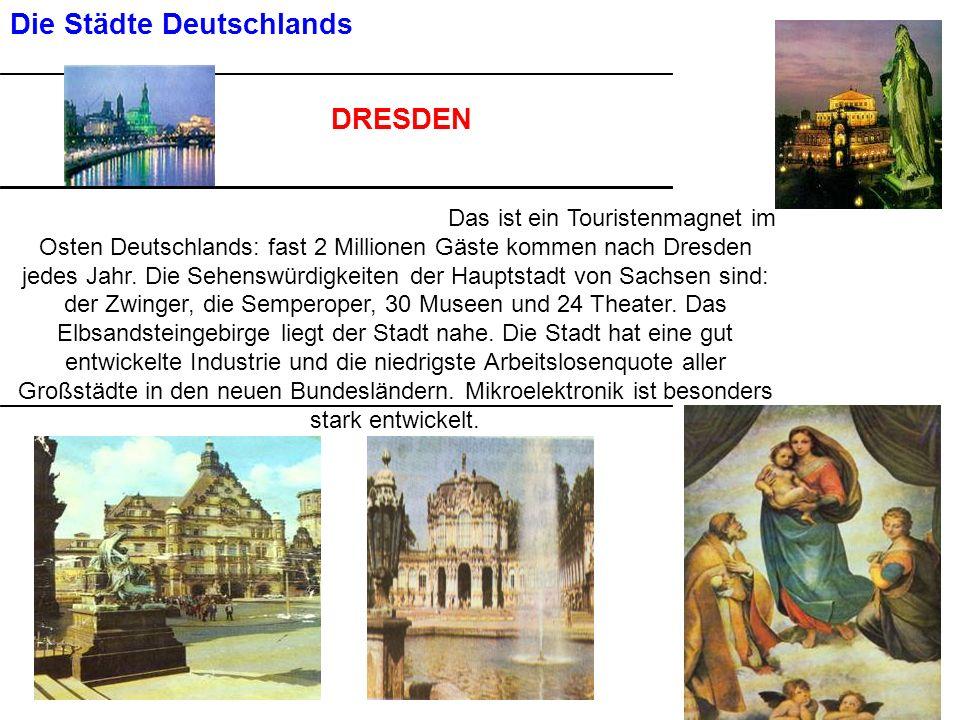 Die Städte Deutschlands
