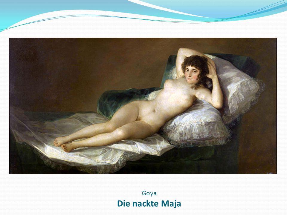 Goya Die nackte Maja