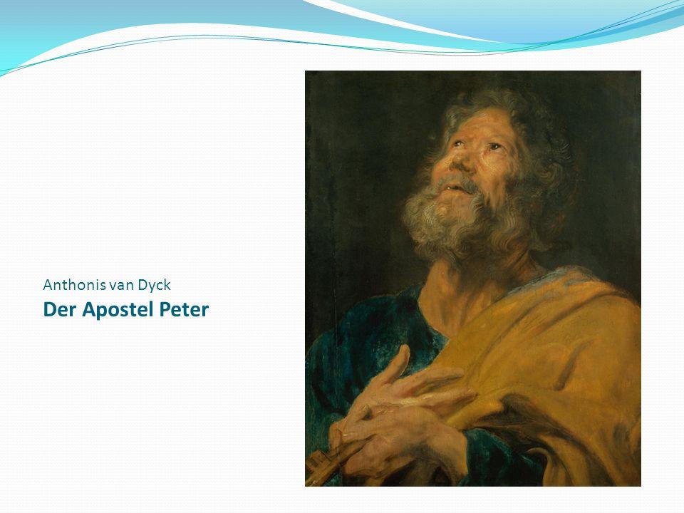 Anthonis van Dyck Der Apostel Peter