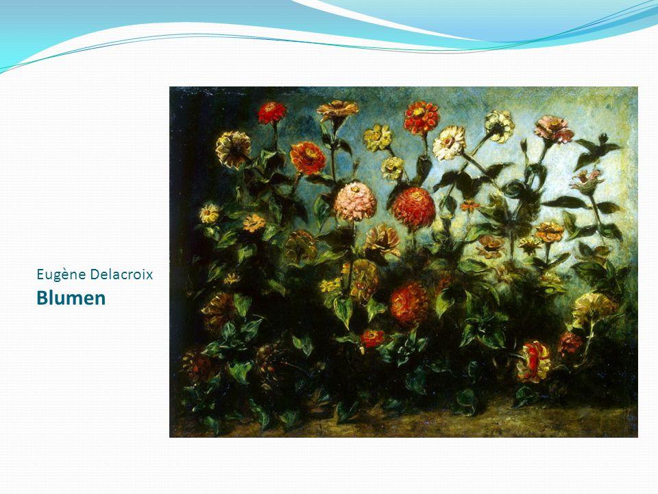Eugène Delacroix Blumen