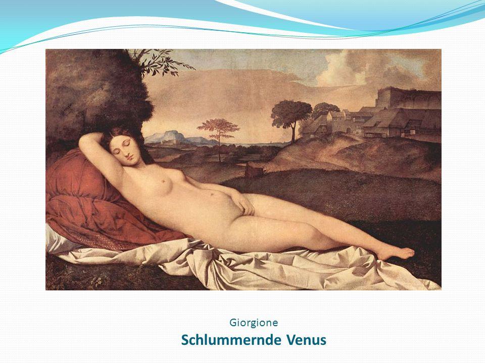 Giorgione Schlummernde Venus