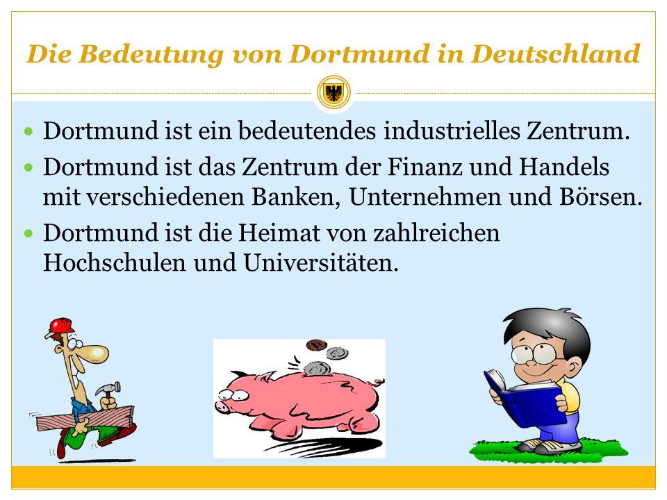 Die Bedeutung von Dortmund in Deutschland