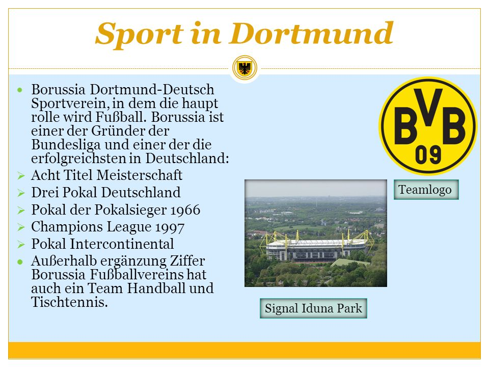 Sport in Dortmund