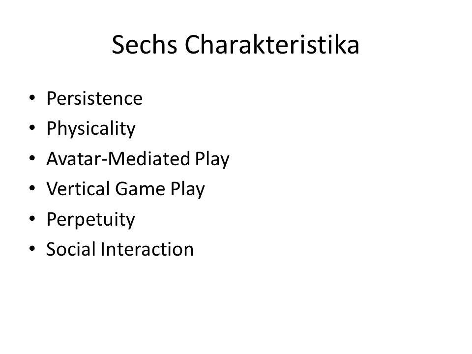 Sechs Charakteristika