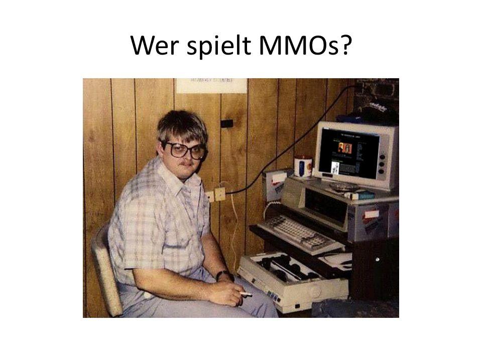 Wer spielt MMOs