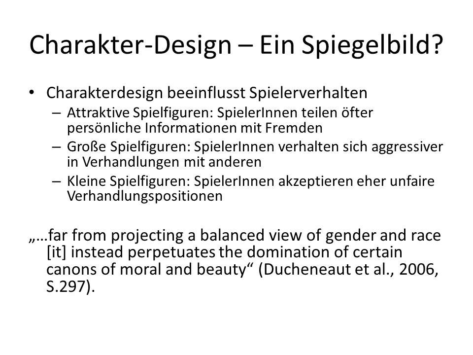 Charakter-Design – Ein Spiegelbild