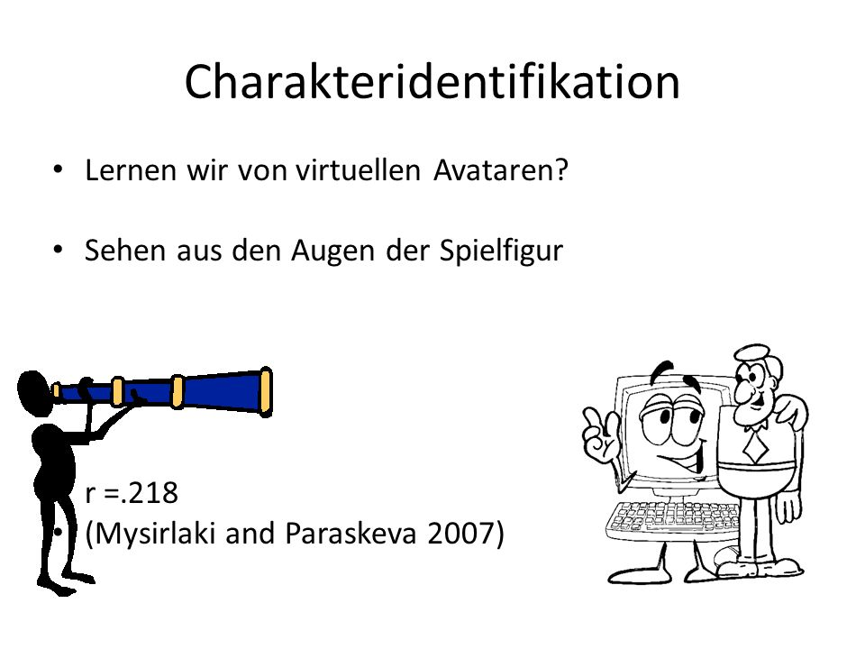 Charakteridentifikation