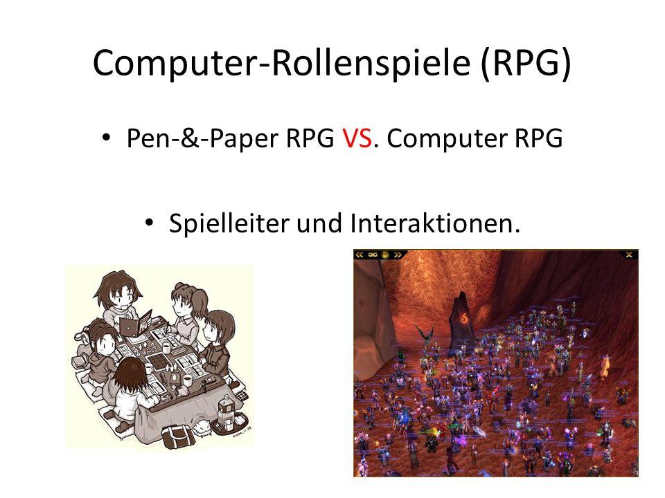 Computer-Rollenspiele (RPG)