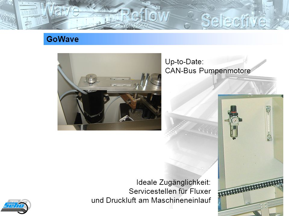 GoWave Up-to-Date: CAN-Bus Pumpenmotore