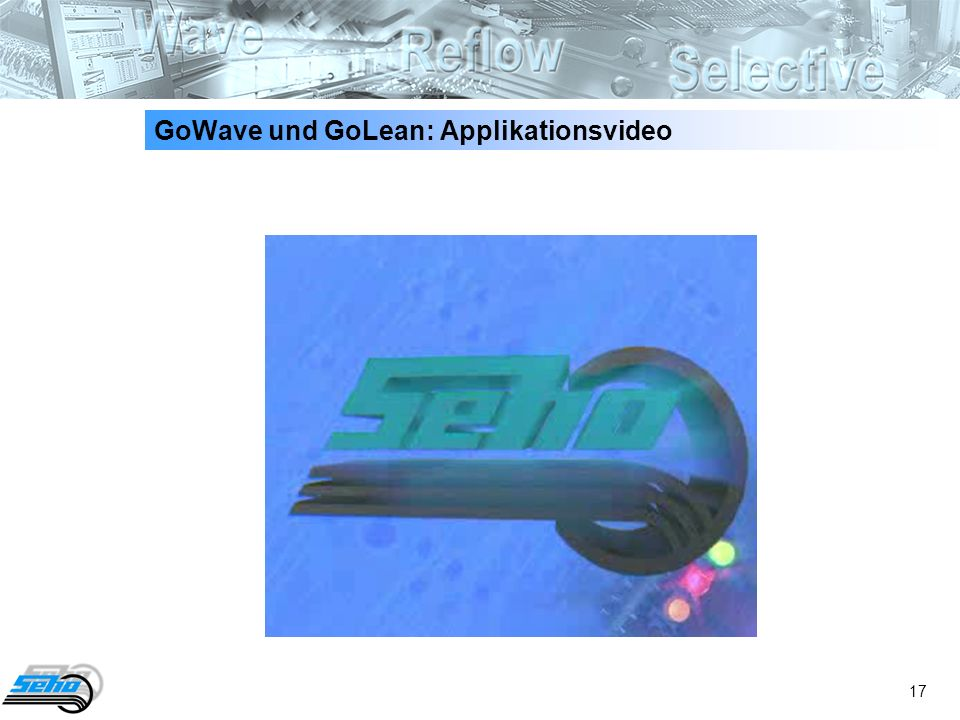 GoWave und GoLean: Applikationsvideo