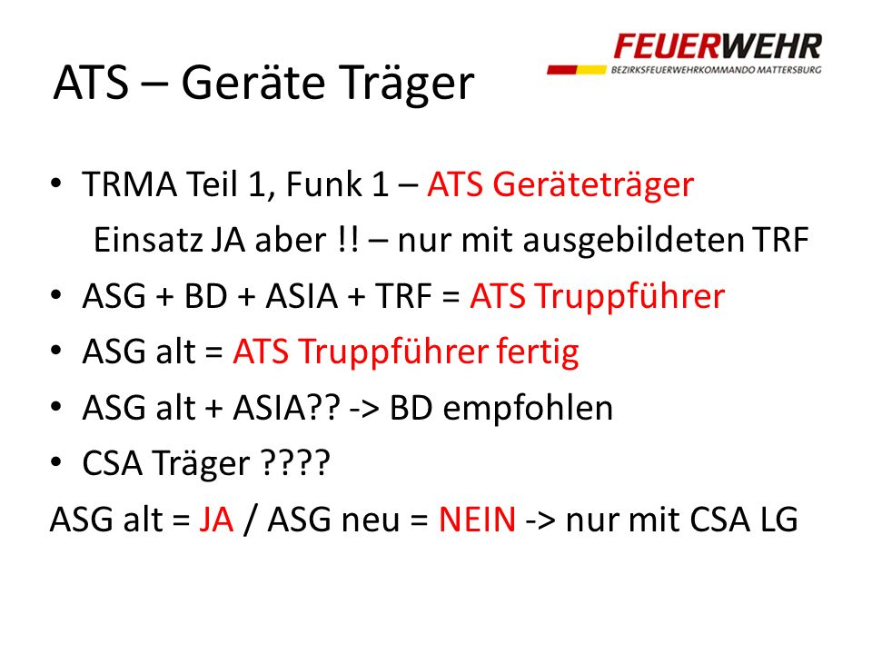 ATS – Geräte Träger TRMA Teil 1, Funk 1 – ATS Geräteträger