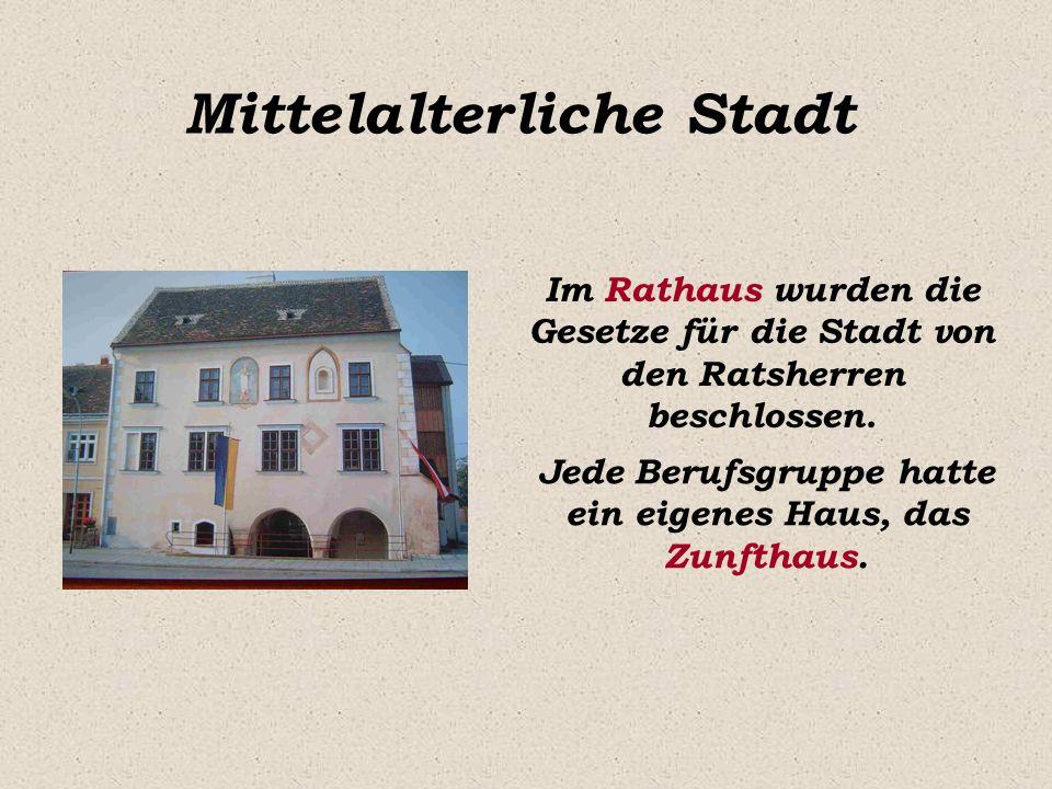 Mittelalterliche Stadt