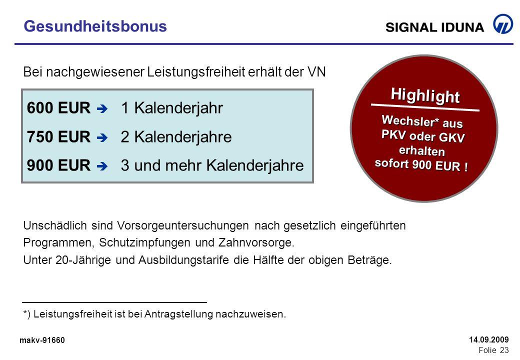 Wechsler* aus PKV oder GKV erhalten sofort 900 EUR !