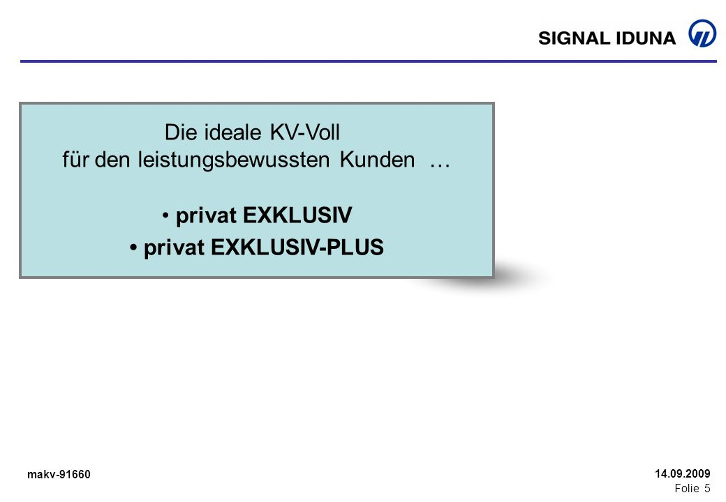 • privat EXKLUSIV-PLUS